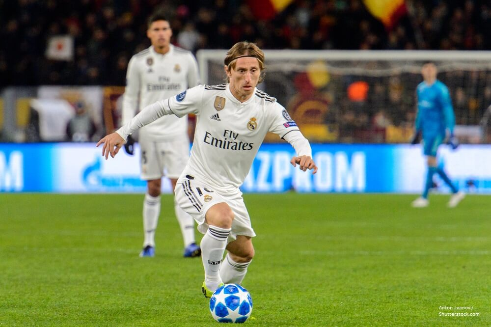 Real Madrid Luka Modric 10