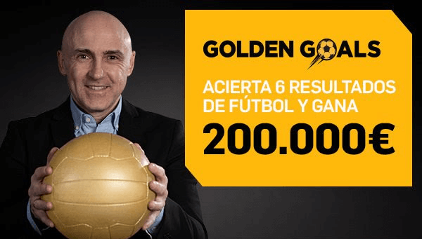 Promoción Betfair Golden Goals