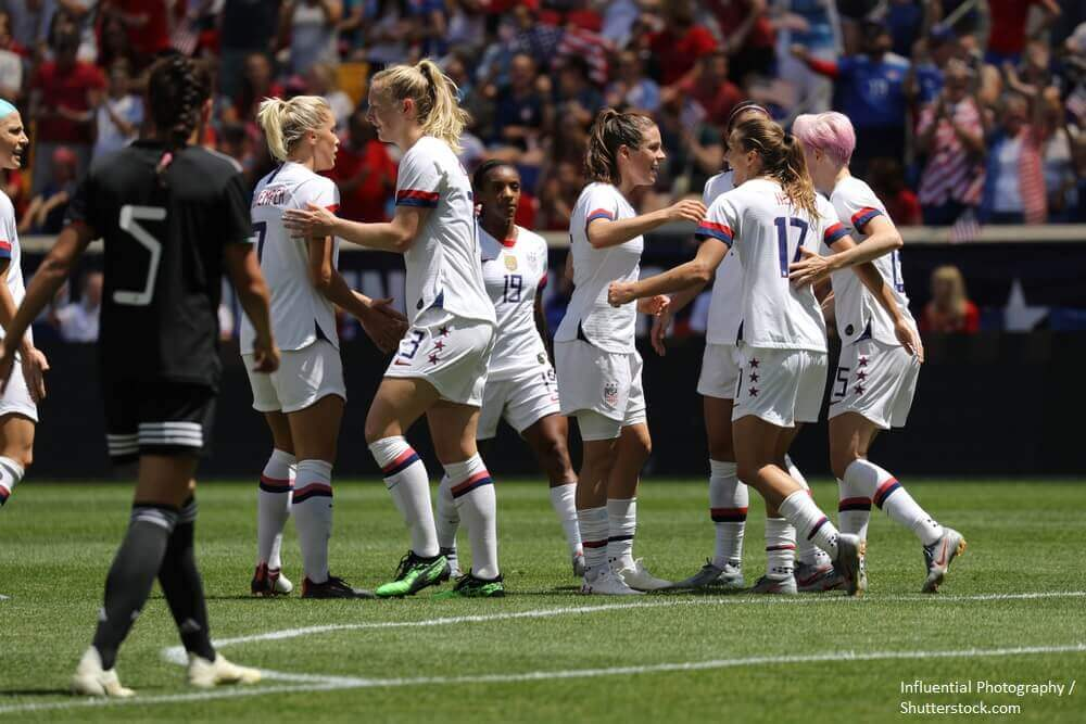 USA women Wrold cup soccer football team
