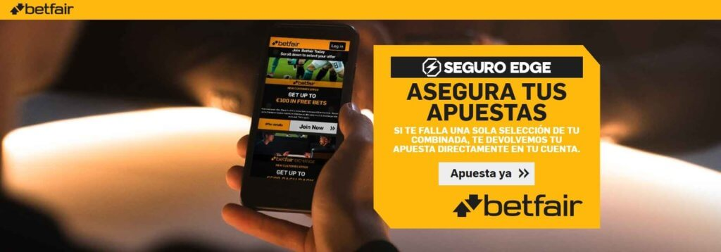 BETFAIR Seguro Edge
