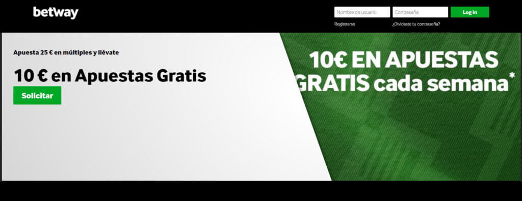 Betway Club de apuestas gratis