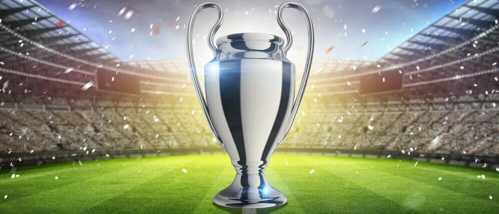 Champions League Cup banner