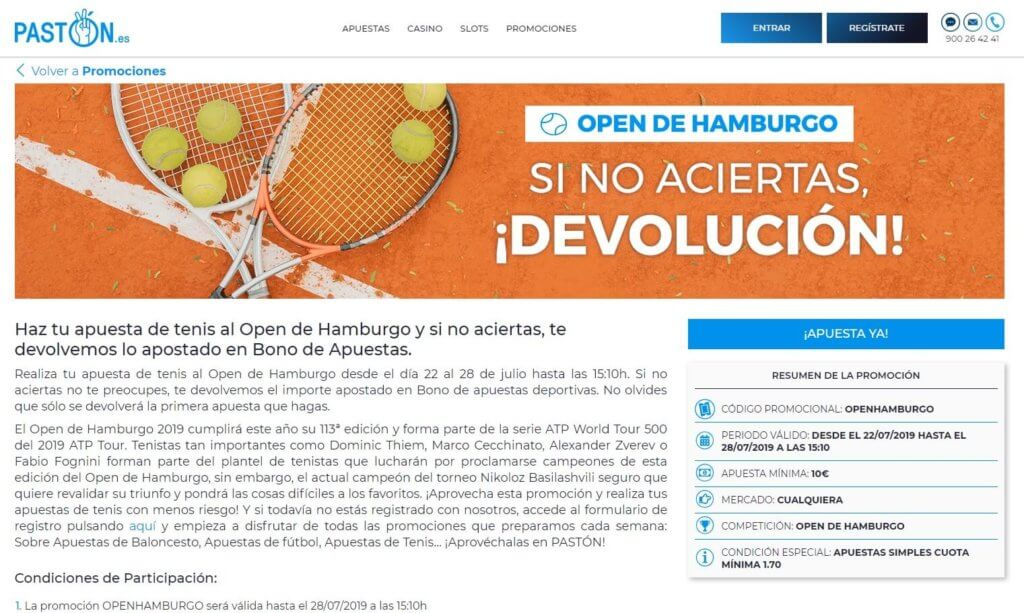 PASTON Open de Hamburgo
