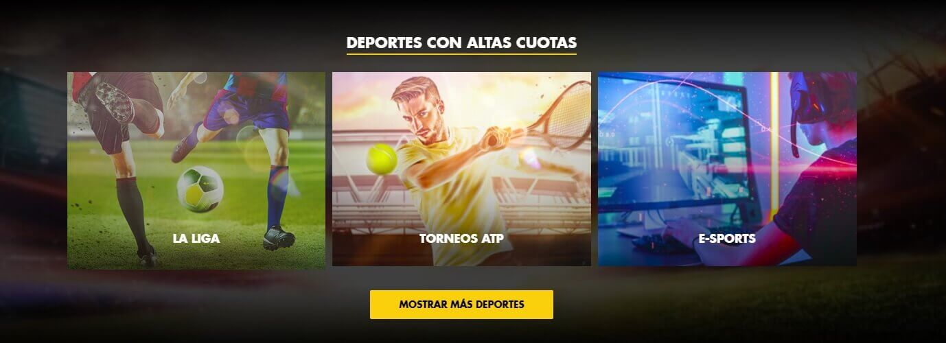 Bethard Offers Football tennis esports